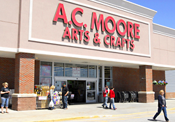 Maine Commercial & Retail Photography - A.C. Moore Store Front