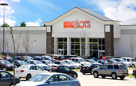 Maine Commercial & Retail Photography - Big Lots Store Front