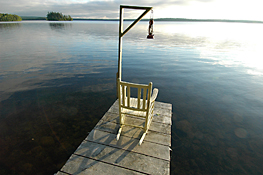 Maine Commercial & Hospitality Photography - Cathance Lake Dock Chair