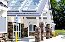 Maine Commercial & Architectural Photography - Commercial Building Entrance