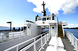 Tourism photography - Ferry