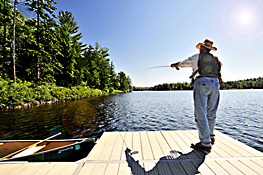 Tourism photography - Fly Fishing