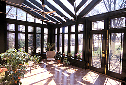 Real estate photography - Greenhouse Interior