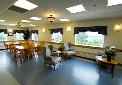 Maine Commercial & Hospitality Photography - Health Care Dining Room