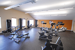 Real estate photography - University Gym
