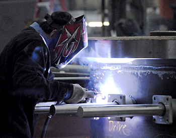 Maine Commercial & Industrial Photography - Industrial Welding