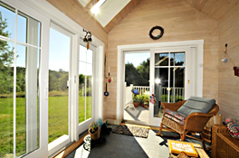 Maine Commercial & Architectural Photography - West End Cottage Sunroom